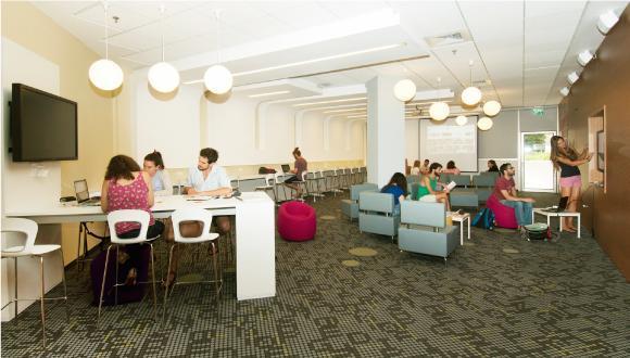 אזורי לימוד בספרייה